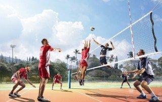 volleybal schema
