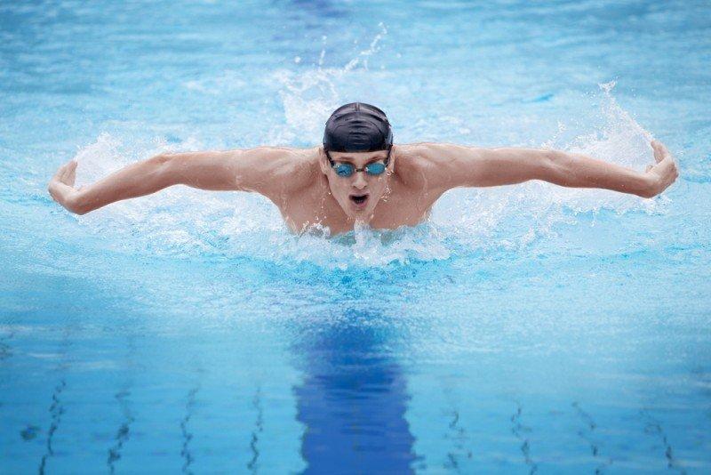 krachttraining zwemmers