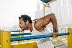 Triceps oefeningen: Triceps dips