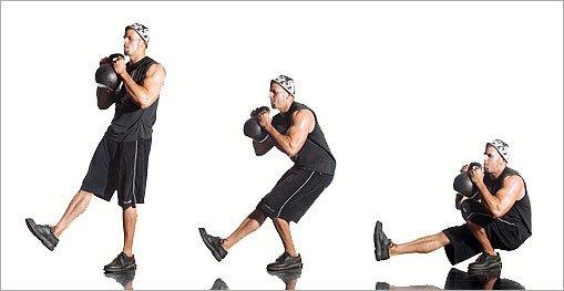 Geavanceerde squat: Pistol Squat