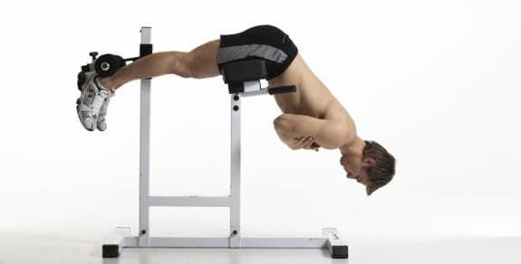 Rug oefeningen: Back extension