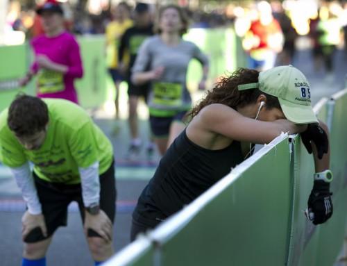 Meedoen aan een marathon schadelijk voor ongeoefende sporters
