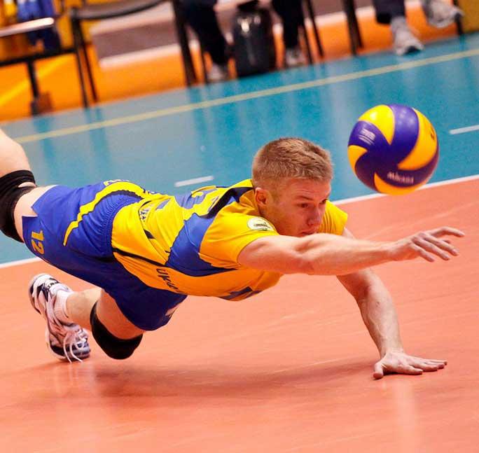 Krachttraining voor volleyballers