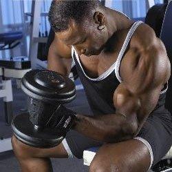 visualisatie krachttraining biceps