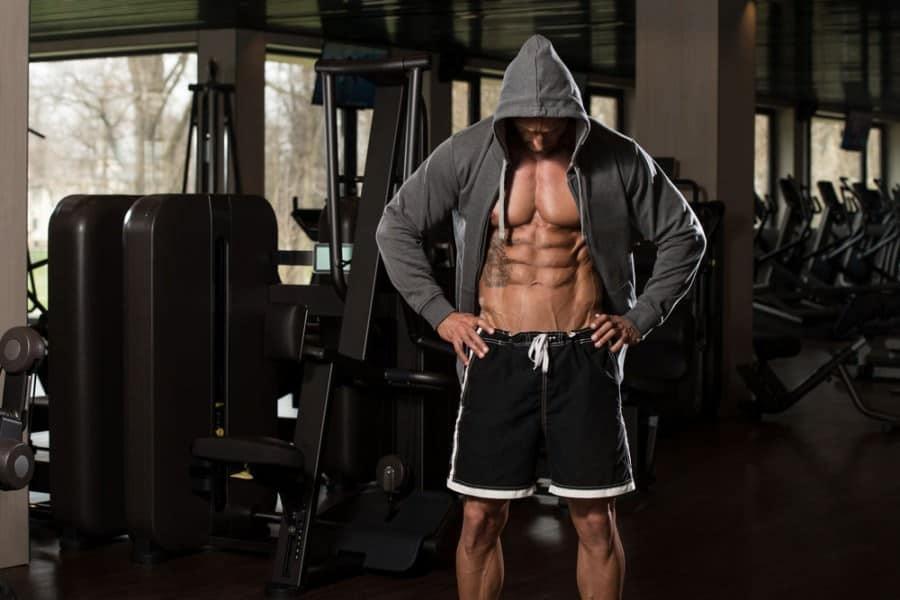 Droog trainen is de manier om je spieren snel zichtbaar te maken