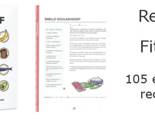 Review Fitchef 105 eiwitrijke recepten boek van Mark van Oosterwijck