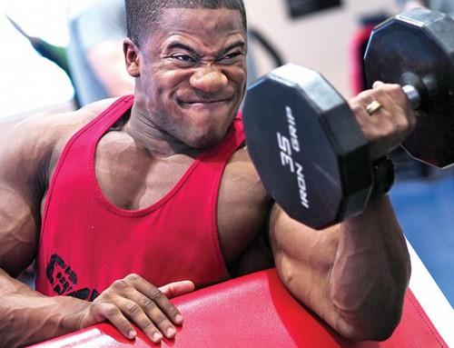 Tips voor grotere biceps
