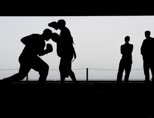 Shadow boxing workout