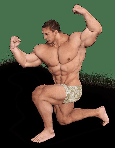 bodybuilders die te ver zijn gegaan